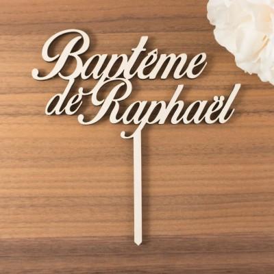 décoration de gâteau Raphaël