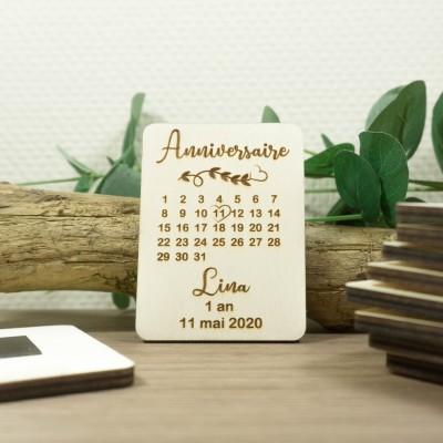 magnet pour invitation d'anniversaire
