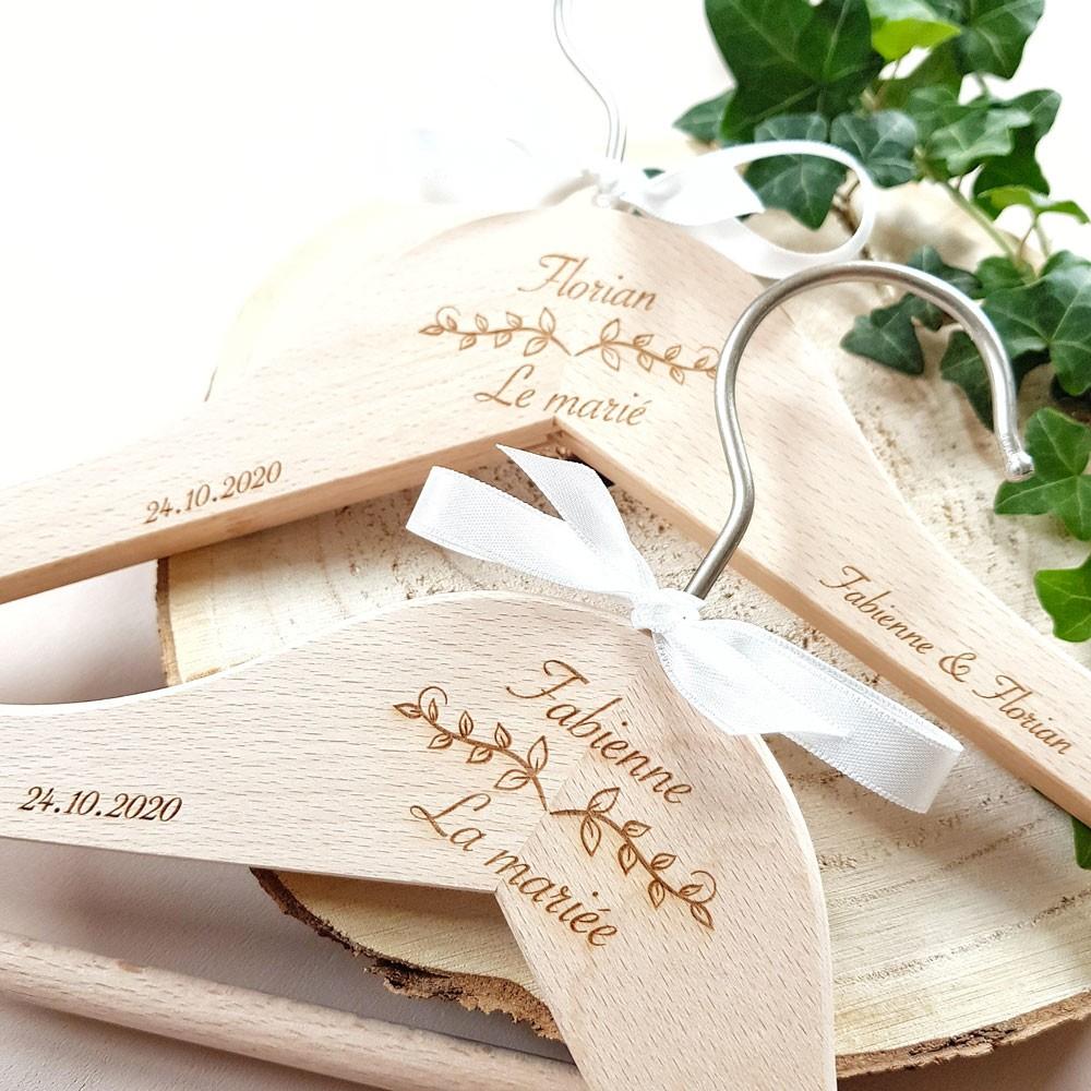 cintres cadeau mariage original