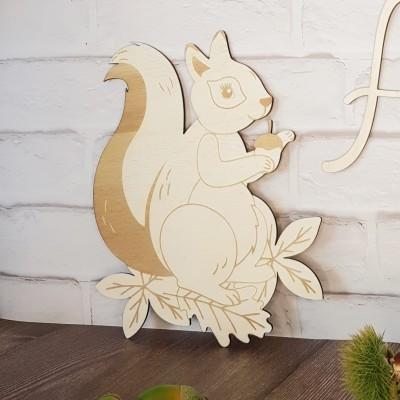 écureuil décoration enfant