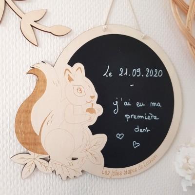 carte étape écureuil