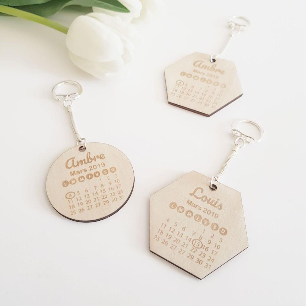 porte-clefs cadeaux de naissance