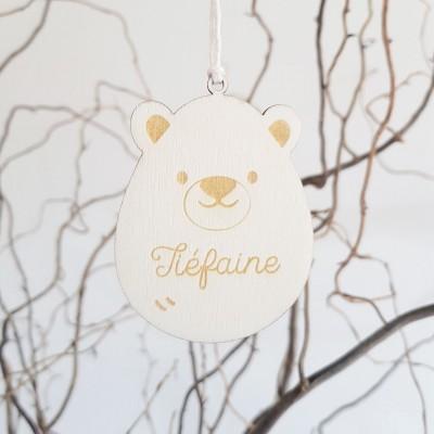 ours en bois à personnaliser