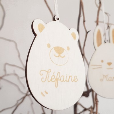 décoration bois enfant personnalisée