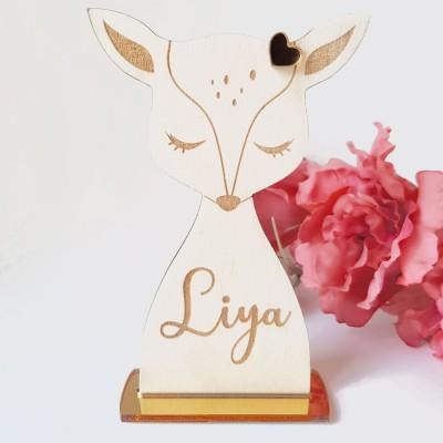 biche à poser décoration