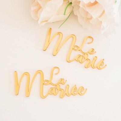 marque-places mariage bohème