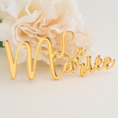 marque-places table des mariés