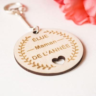 cadeau en bois pour la fête des mères