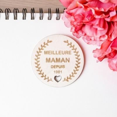 magnet décoratif personnalisé pour la fête des mamans