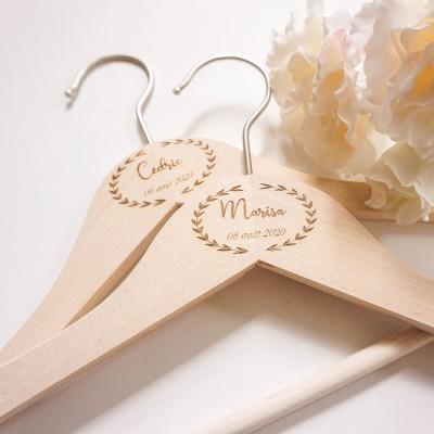 cintre mariage prénoms