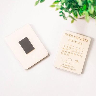 partir en voyage avec les magnets save the date