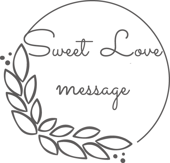 logo sweet love message